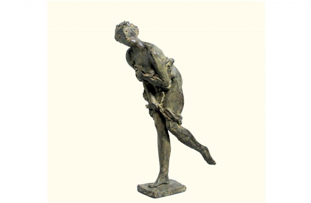 60 2013 Diana brons hoogte 43 cm